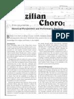History of Choro