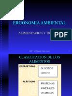 Ergonomia Ambiental Alimentacion y Trabajo