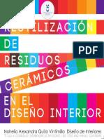 Quito Vintimilla, N.a. Reutilización de Residuos Cerámicos en El Diseño Interior