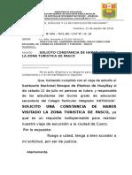 OFICIO N° 005 HUAYLLAY