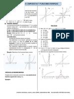 Ficha Funciones Compuestas e Inversas