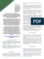 Ficha de Conteudo Filosofia Contemporânea