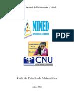 Guia de Admisión Con Solucionario 2025 - 2016 UNAN - UNI