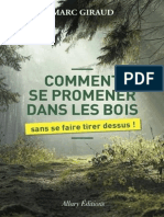 Giraud, Marc - Comment Se Promener Dans Les Bois