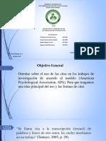 Trabajo de Las Citas y Tipos de Cita APA.