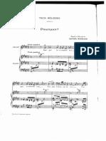 Trois Mélodies Messiaen