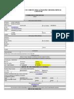 Formulario de Inscripcion Curso