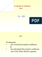 Heat Transfer in Turbulent Flow