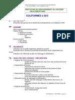 coliformes aliments