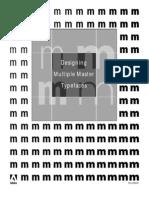 5091.Design MM Fonts