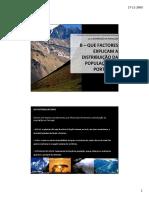 A Distribuicao Da Populacao Subtema b - Que Factores Explicam a Distribuicao Da Populacao Em Portugal