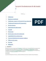 Directivas Para El Proyecto de Subestaciones de Alta Tensión