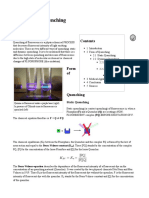 fluorescence quenching process