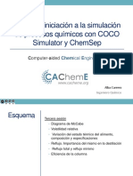 Curso COCO Simulator ChemSep d3 v.2