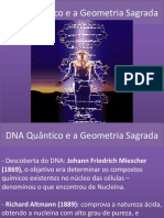 DNA Quântico e a Geometria Sagrada