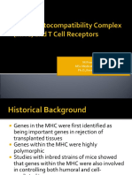 Major Histocompatibility Complex (MHC) and T Cell Receptors ppt