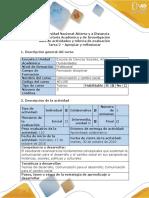 Guía de Actividades y Rúbrica de Evaluación - Tarea 2 - Apropiar y Reflexionar