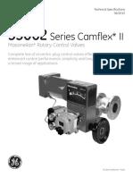 35002 Series Camflex II Rotary Valve Spec Data Gea19376b