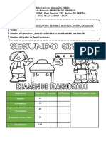 Examen Diagnostico 2do18-19