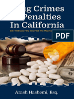 Drug Crimes & Penalties in California - By Arash Hashemi