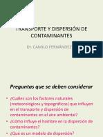 2 2 Transporte y Dispersión de Contaminantes