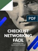 Checklist Networking Facil