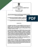 Resolucion 01671 ANLA