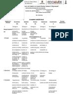Guía Estructurada de Evaluación Cuadro Sinoptico