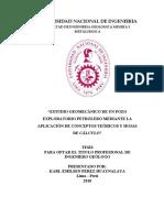 Huaynalaya - Estudio geomecánico de un pozo exploratorio petrolero mediante la aplicación de conceptos teóricos y hojas de cálculo.pdf