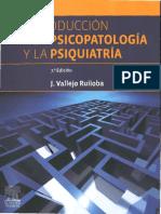 Introduccion a La Psicopatologia y La Psiquiatria