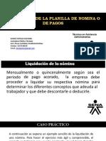 PPT LIQUIDACION  BÁSICA DE LA PLANILLA DE NOMINA.ppt