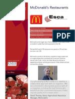 11 Case Studies - McDonalds Restaurants