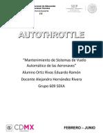 Autothrottle (acaleradores automaticos)