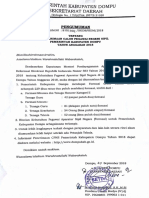 Pengumuman Penerimaan CPNS Daerah Kab. Dompu Tahun 2018 (1)