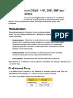 Normalization in DBMS11