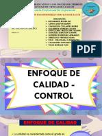Enfoque de Calidad - Control-diapositivas