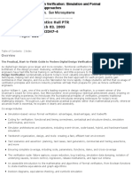 William k Lam Hardware Design Verification Simulation and Formal Method Based Approaches Prentice Hall 2008
