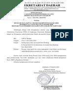 Pengumuman Jadwal Seleksi Kompetensi Dasar (SKD) Penerimaan CPNS 2018 Pemkab Sukabumi