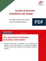 1- Introducción Al Der. Eclesiástico