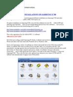 Navod Java X700