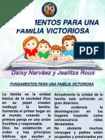 Fundamentos Para Una Familia