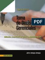 Toma de Decisiones Gerenciales 2da Edicion Jairo Amaya Amaya