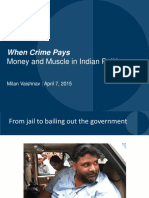 criminalisation in indian politics