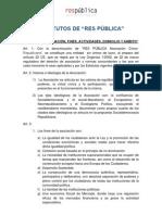 Estatutos de Res Publica
