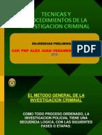 Fases de La Investigacion_policial - DILIGENCIAS PRELIMINARES