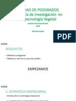 Intro (Estrategia + emprendimiento + Gestion de Proyecto I)