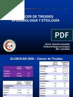 Biologia Molecular de Cancer Papilar Tiroides
