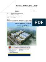Fish Powder System