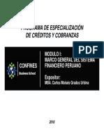CARLOS GRADOS URBINA - MARCO GENERAL - SISTEMA FINANCIERO