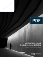 GEOMETRÍA SOLAR e ILUMINACIÓN NATURAL